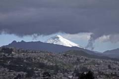 Cotopaxi bezien vanuit Quito